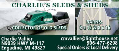 Charlies Sleds and Sheds