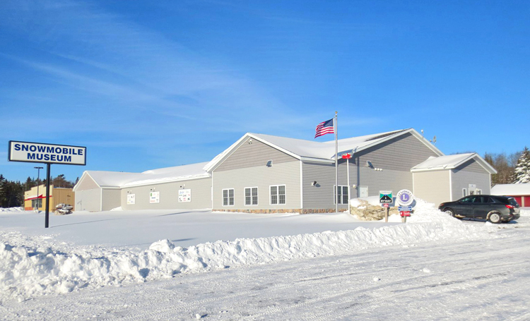 Top of the Lake Snowmobile Museum of the Upper Peninsula of Michigan