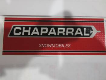 Chaparral Snowmobiles