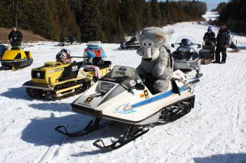 Raider fun at the 2010 Bonfire Ride