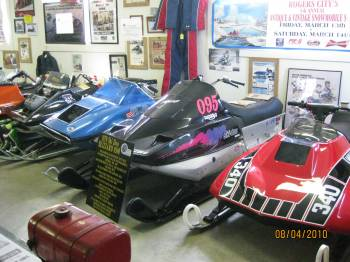 The race section