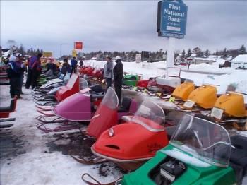 Snowmobile Show display