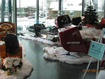 A view of the Hagerty Center display