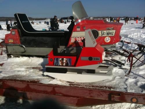 Ski Whiz Snowmobile Rocker