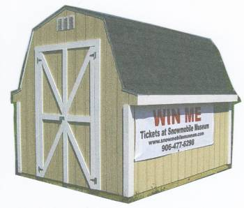 Storage Shed for Sept. 2011 Raffle