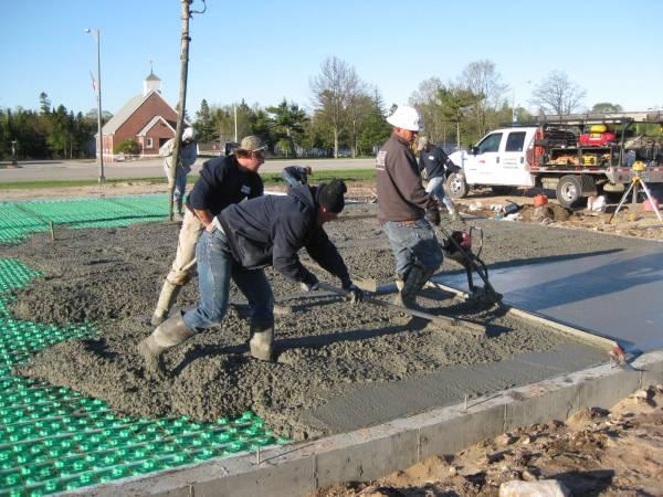 Forward Concrete crew