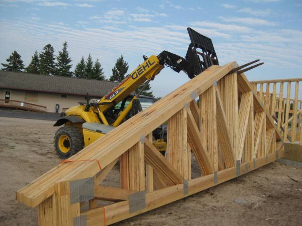 Moving trusses